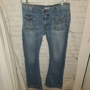 Levis 504 Flare Jeans